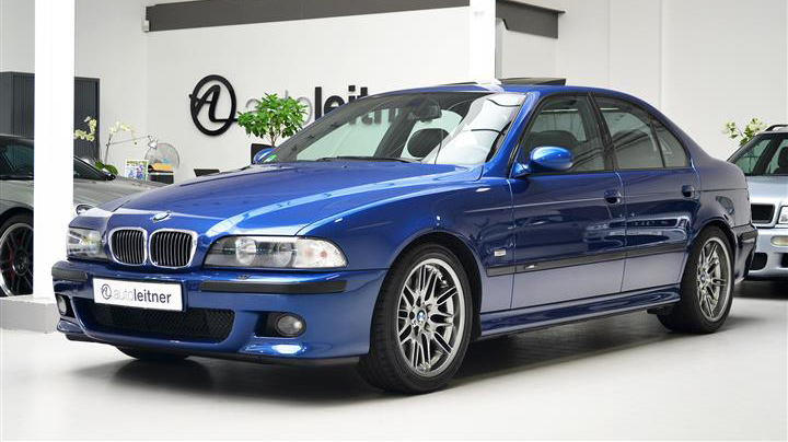BMW M5 E39 vorne links