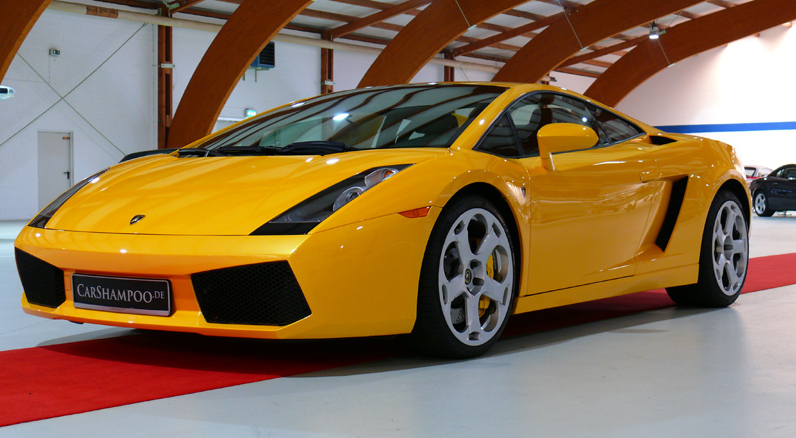 Lamborghini Gallardo vorne links