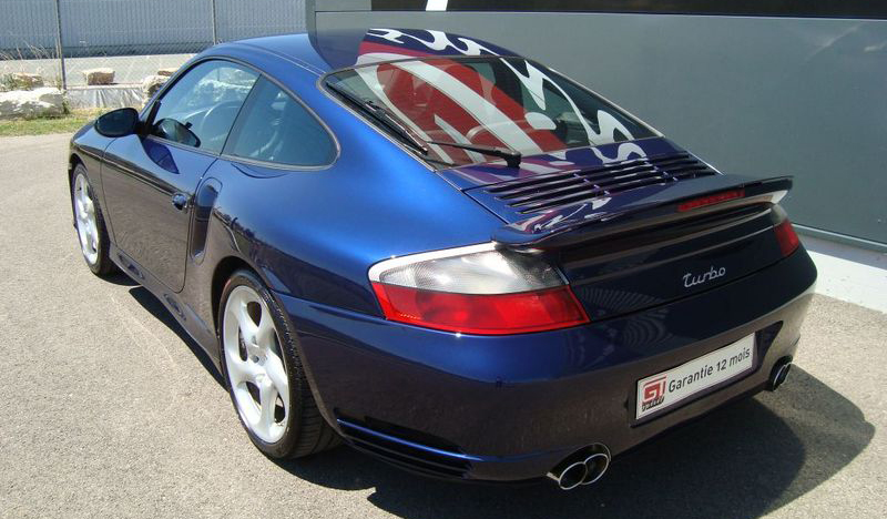 Porsche 996 Turbo hinten links