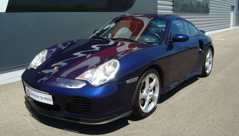 Porsche 996 Turbo  vorne links