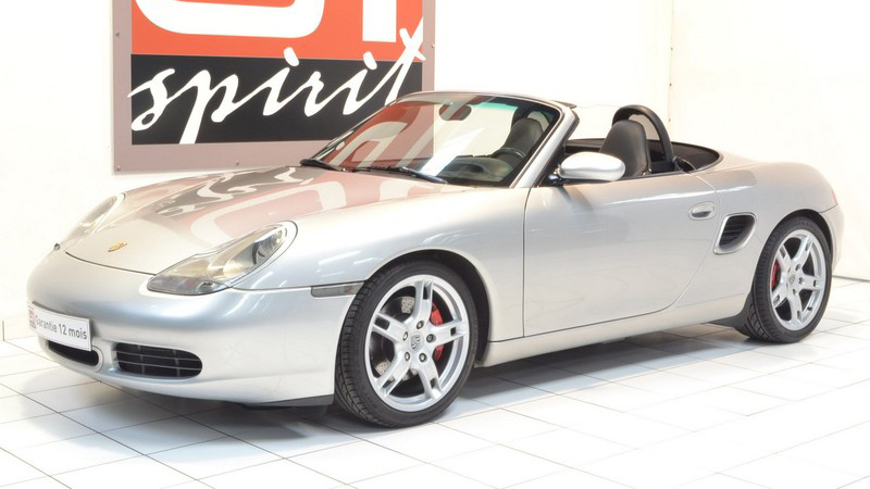 Porsche Boxster (986) vorne links
