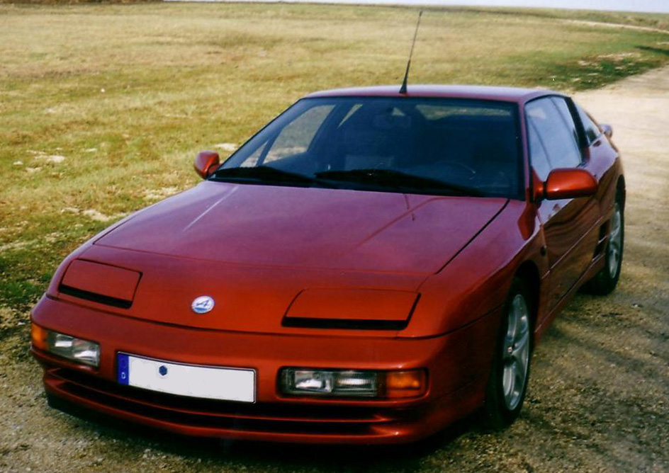 renault alpine a610 vorne links